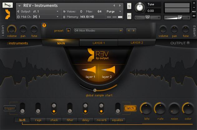 REV Instruments Engine