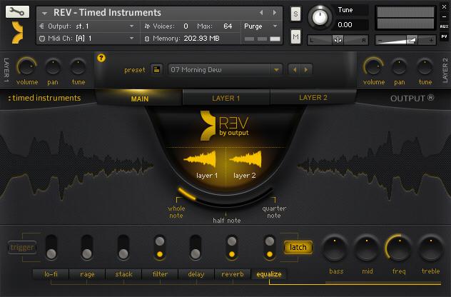 REV Timed Instrument Engine