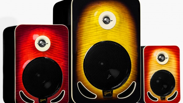 Gibson Les Paul Reference Monitors at NAMM