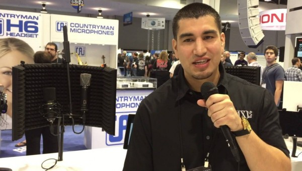 MXL Microphones at NAMM