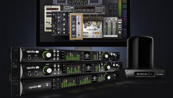 Universal Audio Announces Apollo Thunderbolt 2 Interfaces