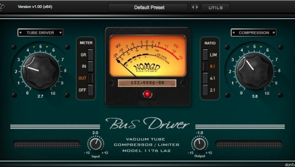 Free Vintage Optical Compressor with Tube Saturation