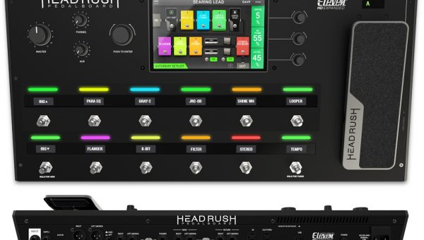The HeadRush Pedalboard
