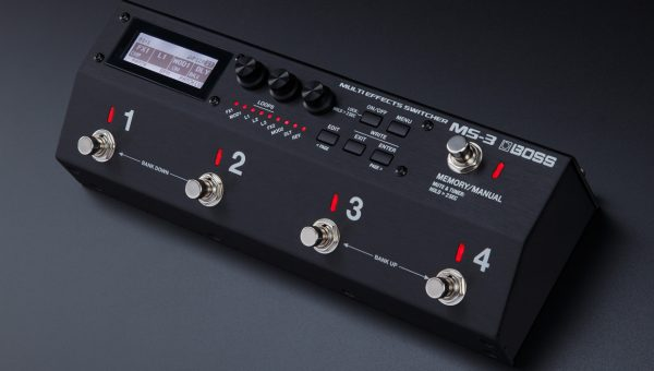 BOSS Introduces the MS-3 Multi Effects Switcher