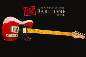 Dean Zelinsky Announces Giveaway of Baritone Dellatera Guitar