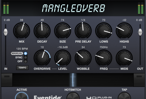 Eventide Announces MangledVerb Plug-in