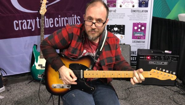 Crazy Tube Circuits at the 2018 NAMM Show