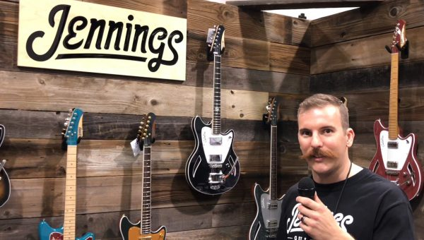 Jennings Guitars at the 2018 NAMM Show