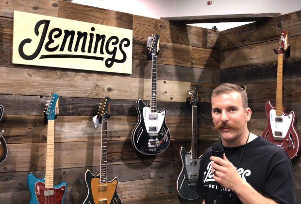 Jennings Guitars at the 2018 NAMM Show