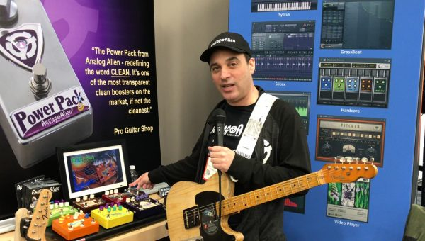 Analog Alien Guitar Pedals at the 2018 NAMM Show