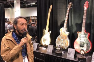 iVee Guitars at the 2018 NAMM Show