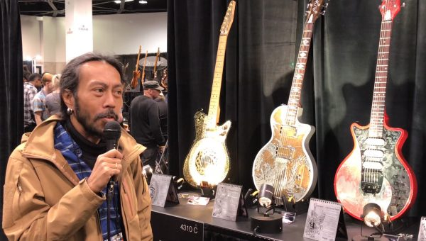 iVee Guitars at the 2018 NAMM Show