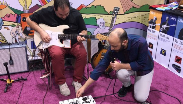 Jam Pedals at the 2018 NAMM Show