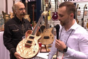 Universum Guitars at the 2018 NAMM Show