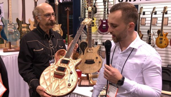 Universum Guitars at the 2018 NAMM Show