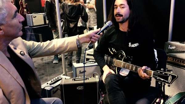 Supro Guitars and Amps at NAMM 2019